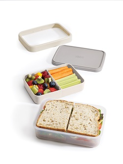 Obědový set JOSEPH GoEat Lunch Box šedý